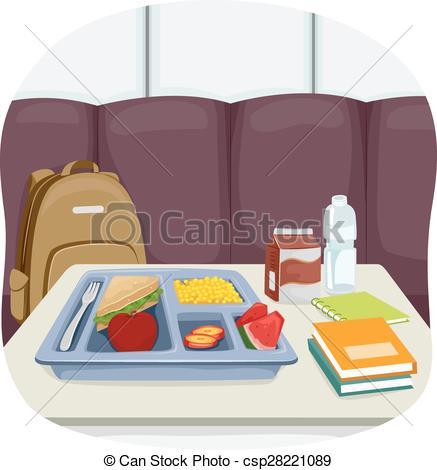 Denmark clipart food tray Csp28221089 Cafeteria a Tray