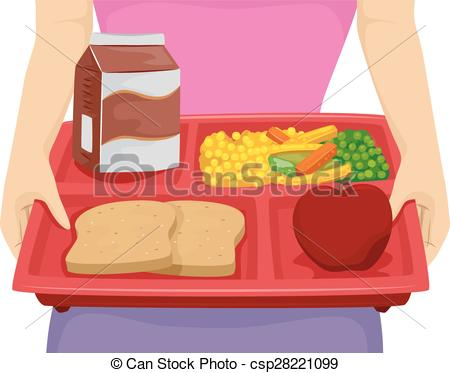 Denmark clipart food tray EPS Tray a Person Diet