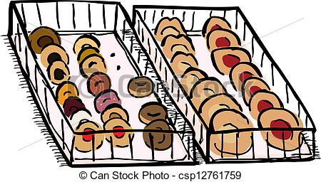 Denmark clipart food tray Csp12761759 of trays of and