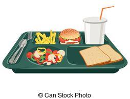 Denmark clipart food tray Tray of Table Illustration