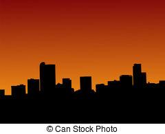 Denver clipart Mountain Clipart 2 Colorado  Denver Skyline