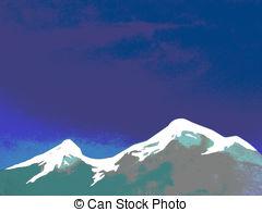 Denver clipart Mountain Clipart Denver Mountains and Colorado illustrations