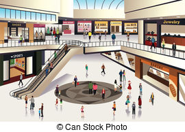 Department Store Clipart And Shopping Mall Retail clip