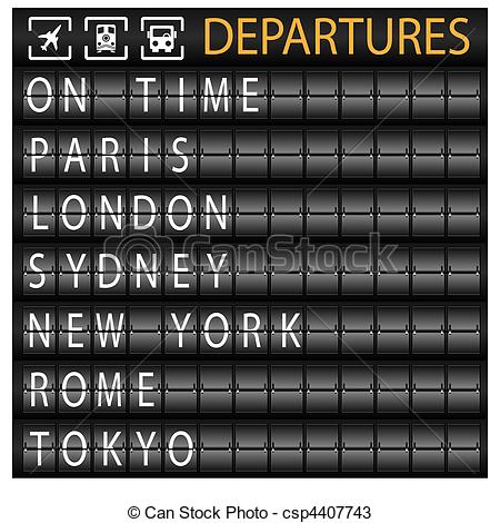 Departure clipart airplain Departure Illustrations and 294 clipart