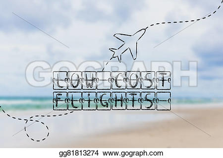 Departure clipart airplain Cost travel with with cost