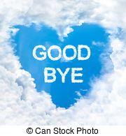 Departure clipart bye bye Love nature Clip goodbye cloud