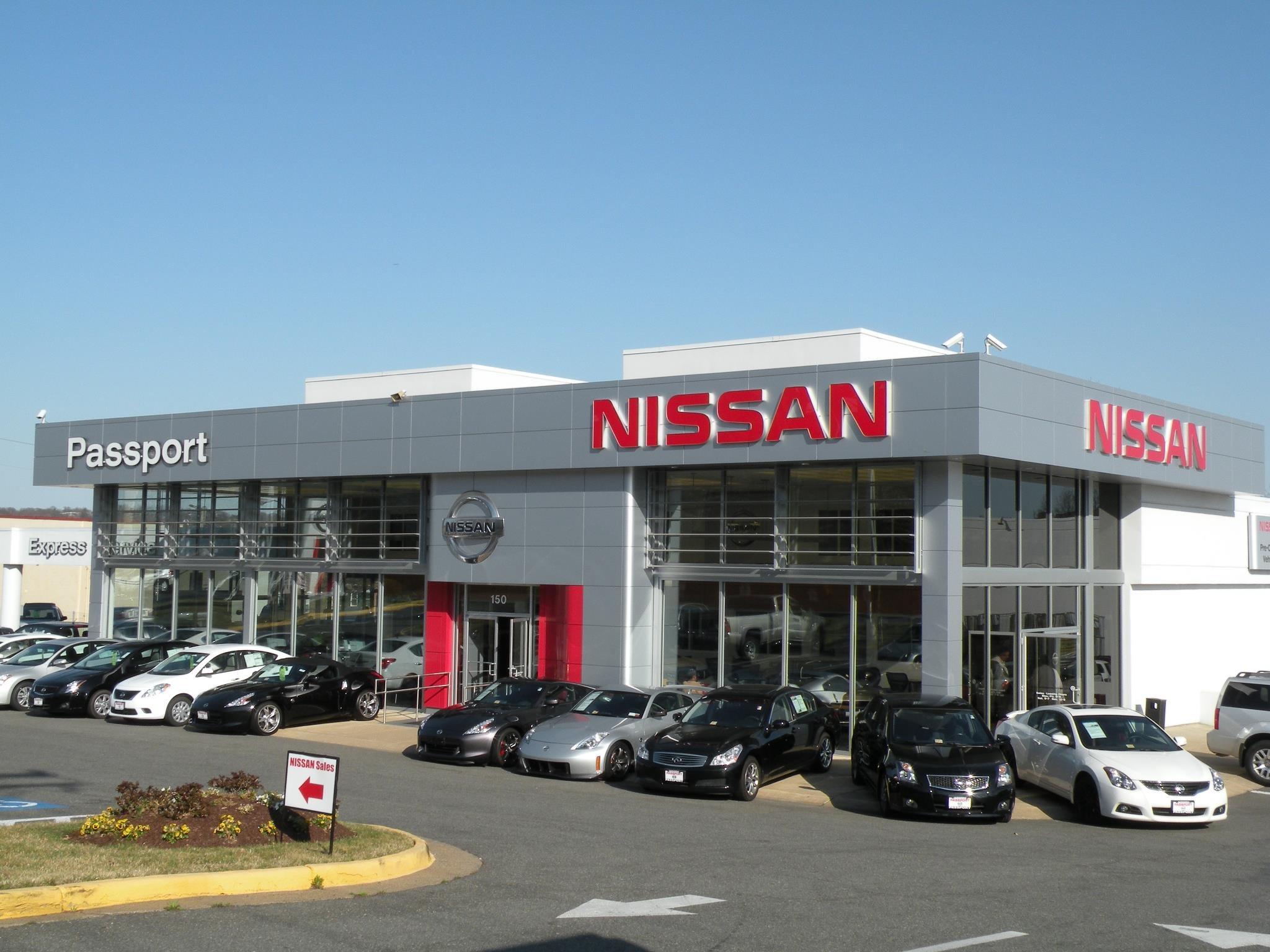 Departure clipart car dealer Falls Dealer VA Nissan Nissan