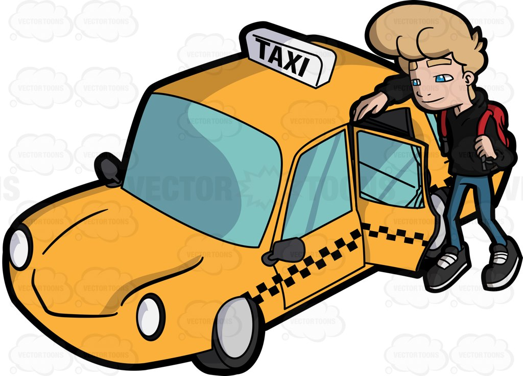 Departure clipart fast car A ride A a to