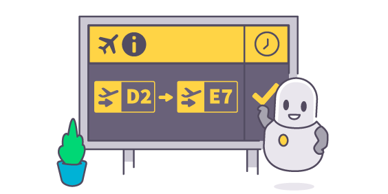 Departure clipart miss Flight Status Flight for tracker