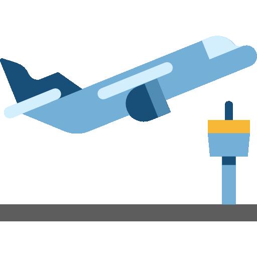 Departure clipart plane Flight travel transport  PNG