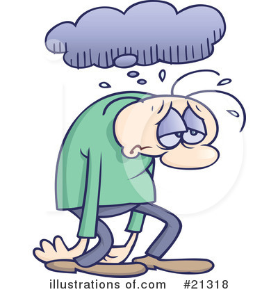 Depression clipart By Clipart Royalty gnurf (RF)