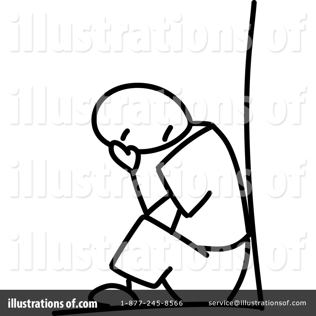 Depression clipart By Clipart Royalty Frog974 (RF)