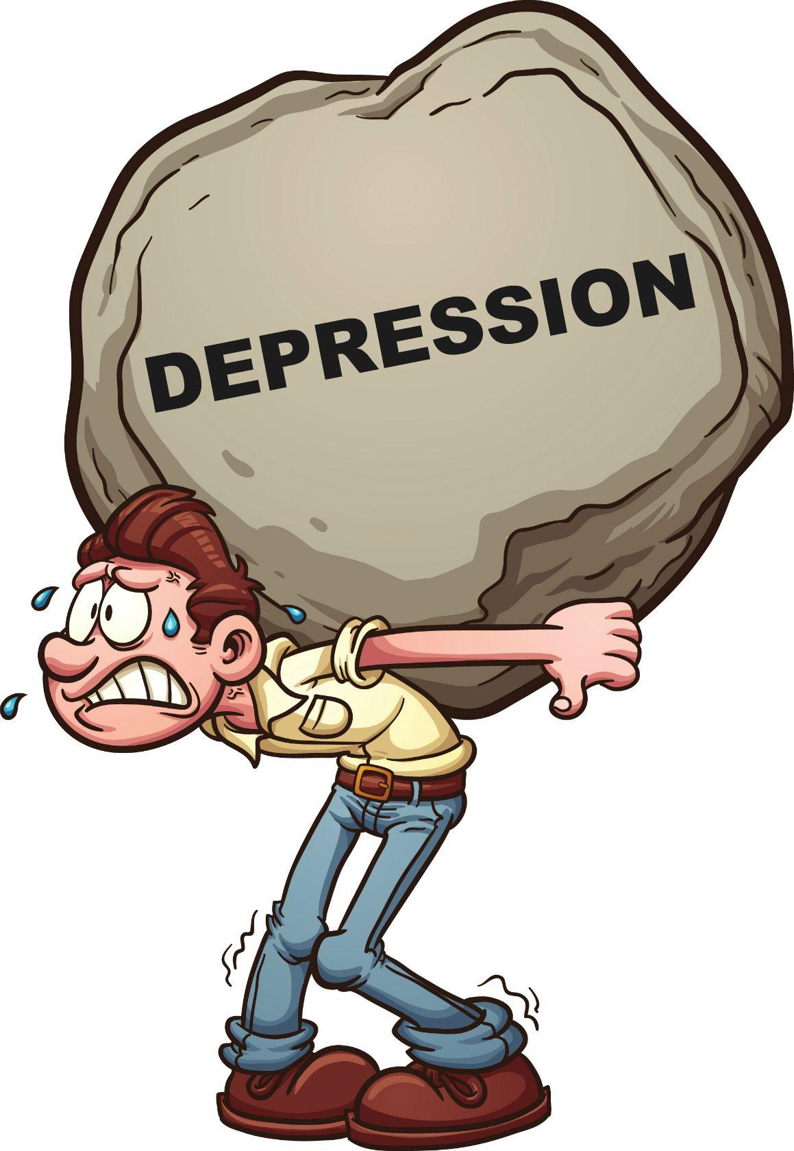 Depression clipart character trait Flipboard  Kelsall on Jan