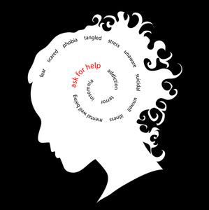 Depression clipart mental illness Illness 299x300 Mental Clipart