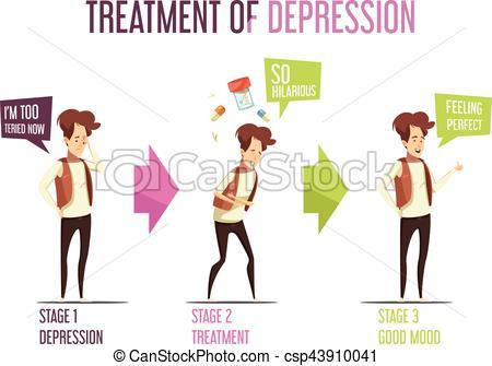 Depression clipart mental illness Cartoon Mental Cartoon Depression Treatment