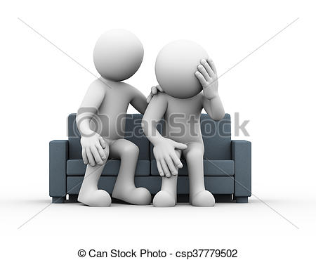 Depression clipart upset person Man sad help depressed sad