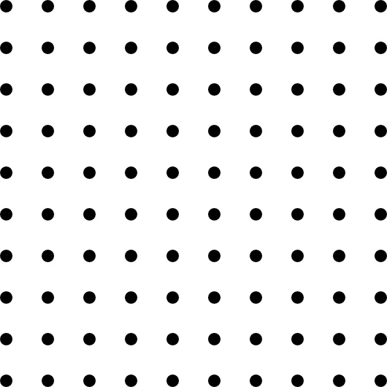 Dots clipart square 03 office Square Dots Grid
