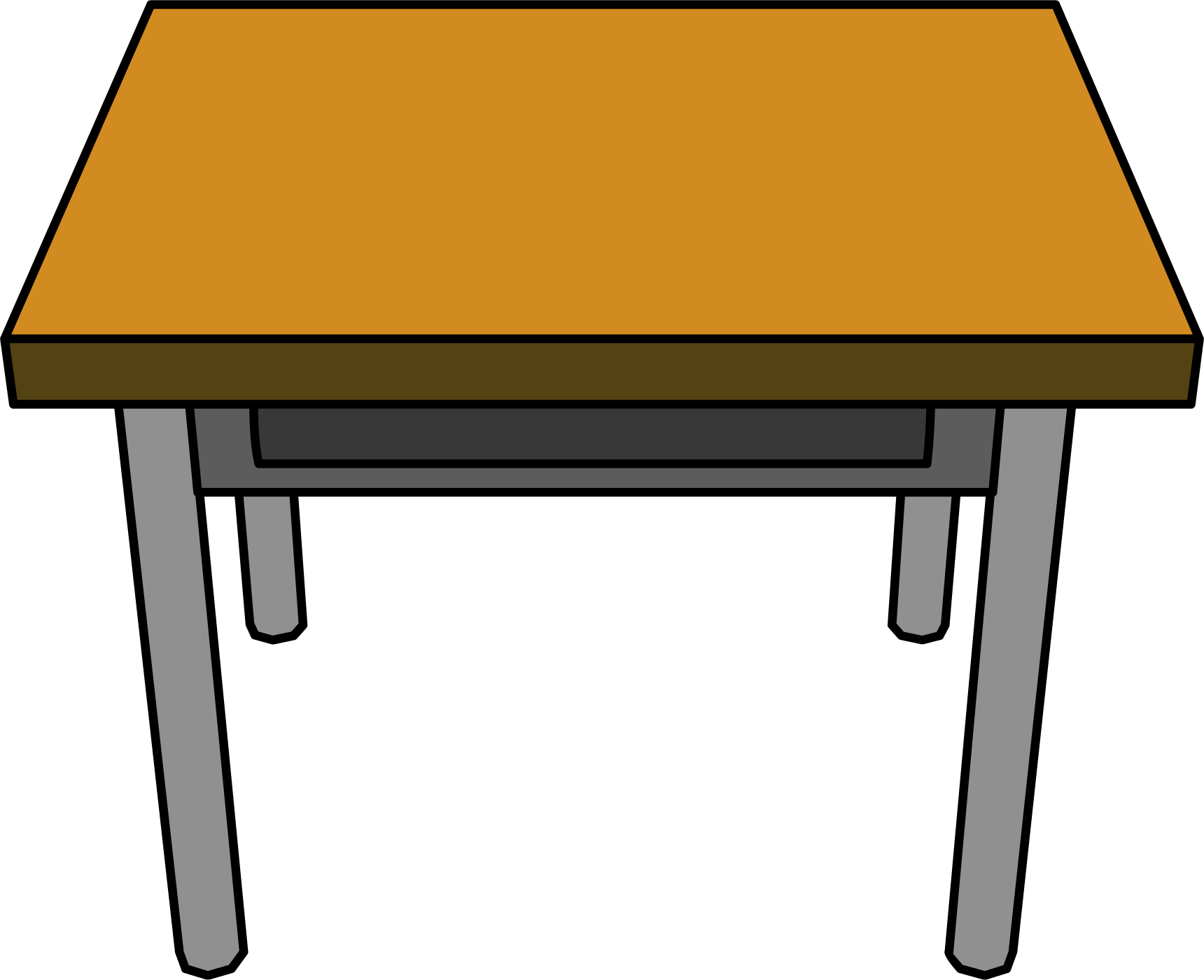 Desk clipart Free #Table collection clipart Table