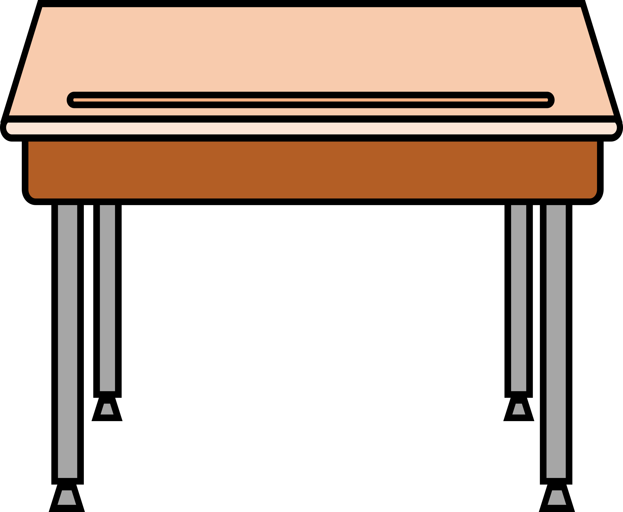 Table clipart student desk Clipart Desk Clipart Free art