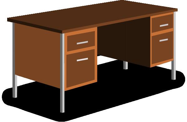 Desk clipart female teacher Clker Art at com