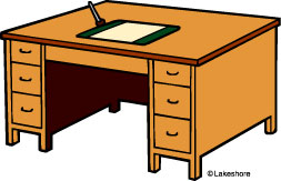 Desk clipart creative writing Art Desk Clip Desk Clipart