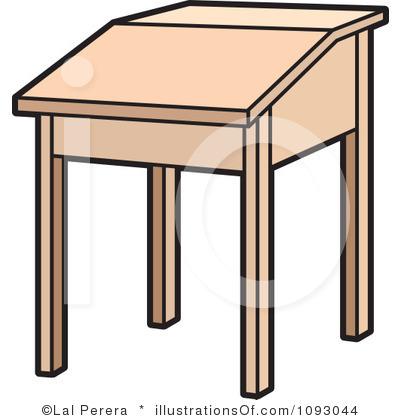 Table clipart student desk Free Desk Art Clip Free
