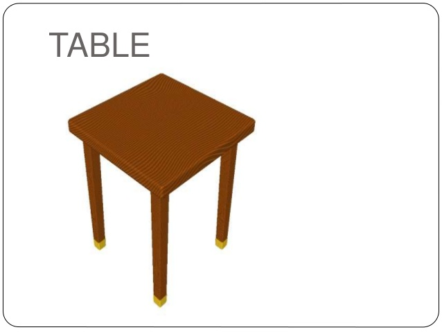 Desk clipart classroom objects Classroom objects