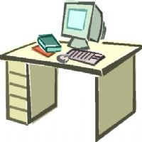 Desk clipart classroom objects Classroom desk cupboard objects Exercises: