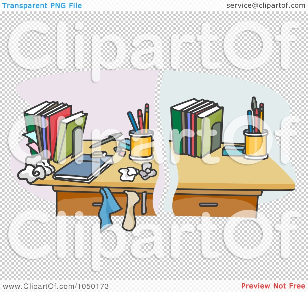 Desk clipart clean desk Clipart Clean desk Desk Student