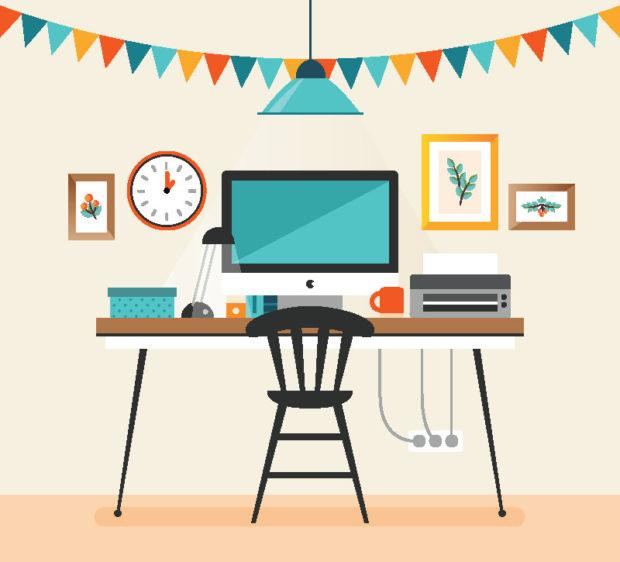 Desk clipart clean desk To you office clutter desk