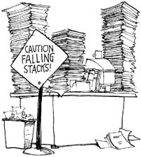 Desk clipart cluttered desk Desk thoughts clipart Desk collection