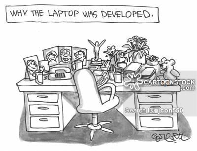 Desk clipart cluttered desk Pictures 4 Desk Cartoons Comics