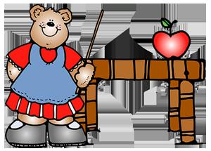 Desk clipart cute Download Teachers Clipart Bear For