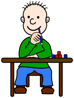 Desk clipart cute student  on Desk His Student