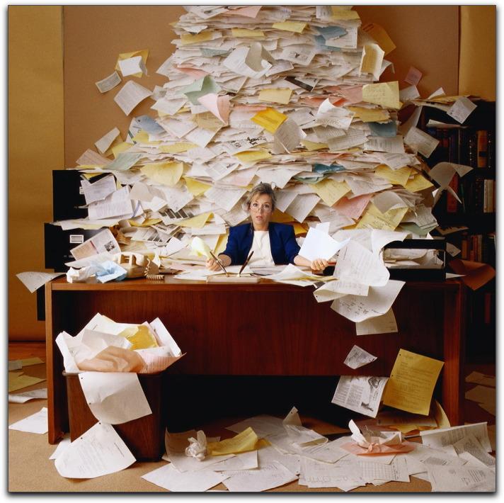 Desk clipart disorganized Messy in Desk Blog Ducks