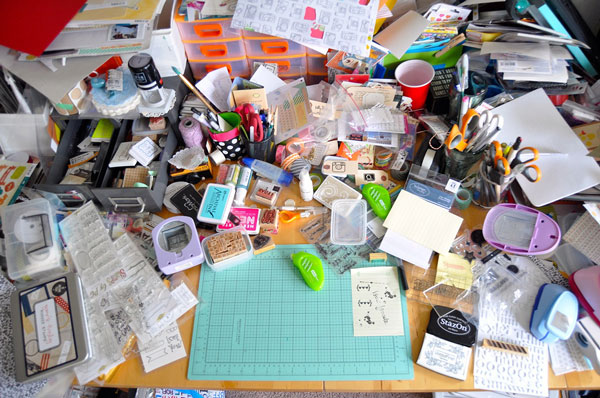 Desk clipart disorganized Students Student Disorganized Picture Clipart