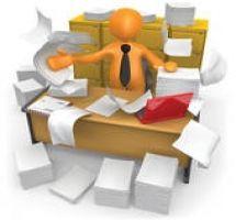 Desk clipart disorganized Clipart clipartsgram com Desk Work