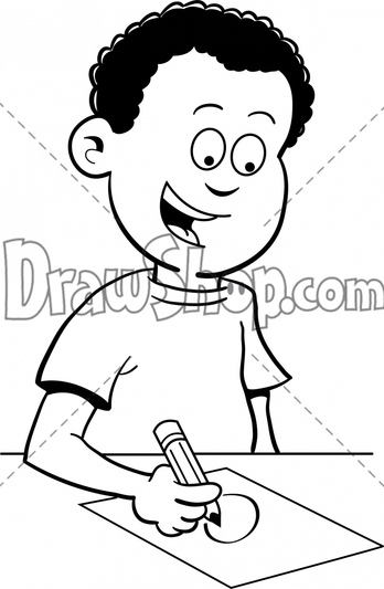 Desk clipart draw Cartoon Vector delivered watermark Art