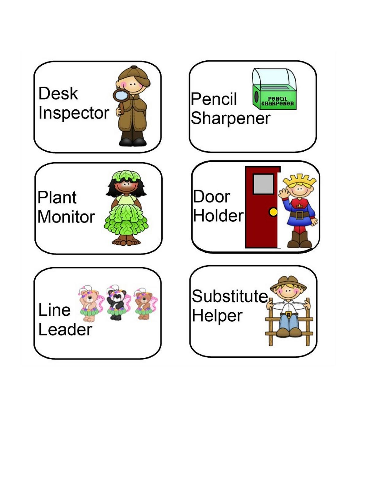 Desk clipart inspector Help Preschool Jobs Preschool Help