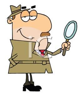 Desk clipart inspector Inspector Clipart Cartoon A Royalty
