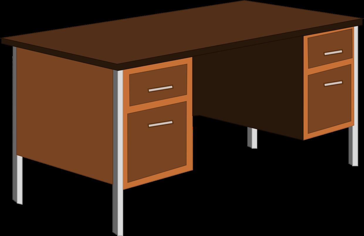 Desk clipart meja BIG (PNG) Clipart IMAGE table