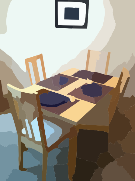 Desk clipart meja At Table Download com online