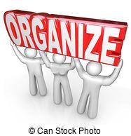 Desk clipart organised Get Organized Help royalty Illustrations