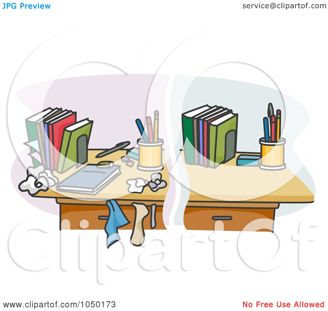 Desk clipart organised Person clipartsgram com Organised Desk