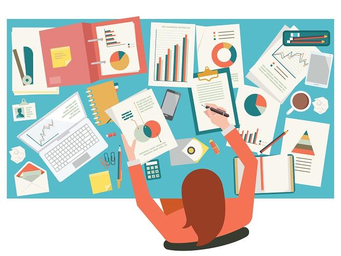 Desk clipart research paper On Viesti Viesti desk paper