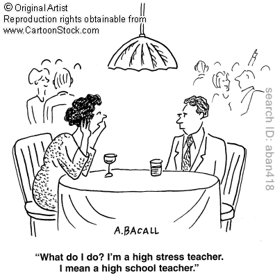 Desk clipart stressed teacher York Stressful New Climate Away