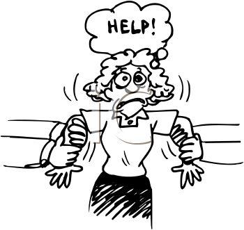 Desk clipart stressed teacher Teacher Stressed Stressed s Clipart