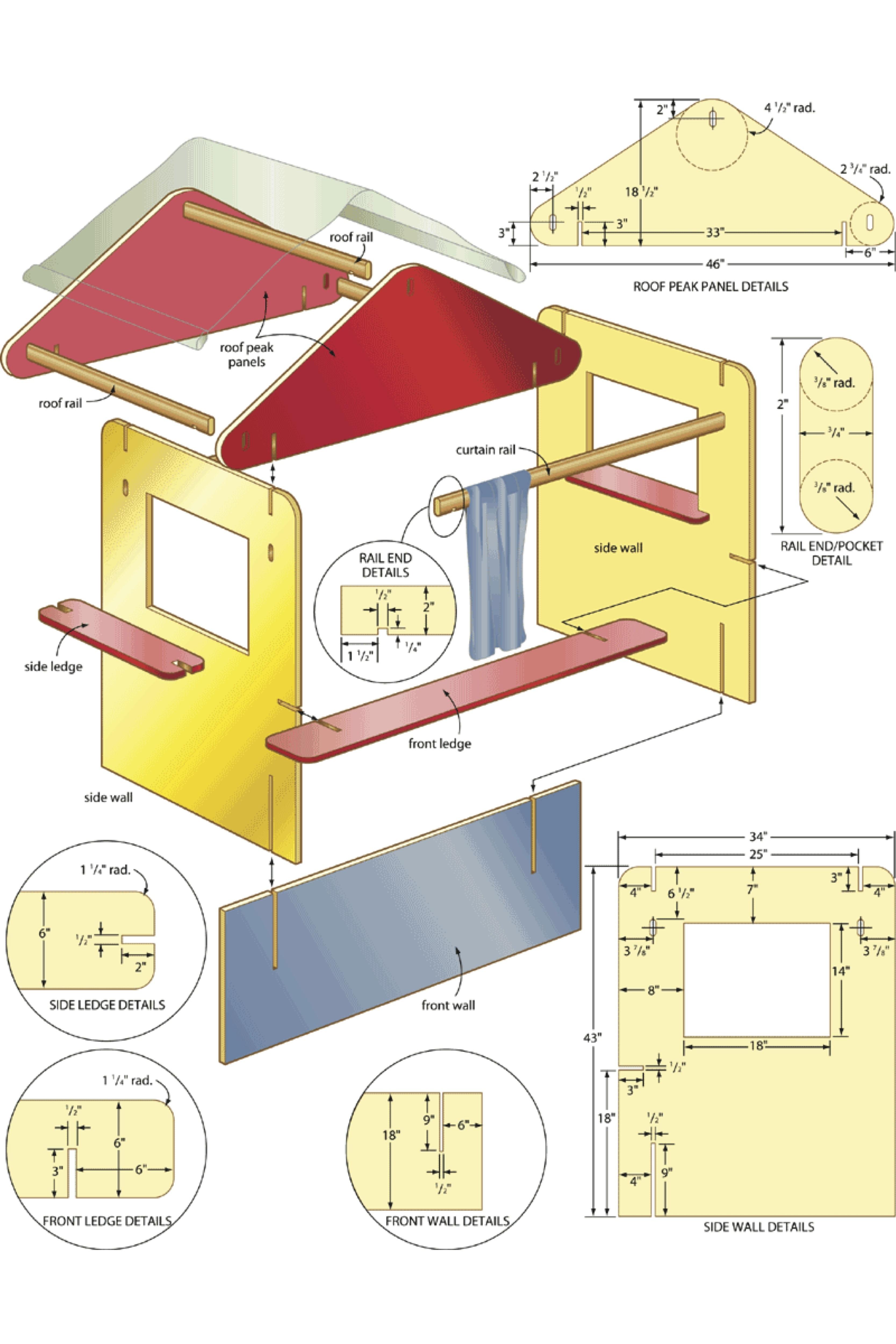 Desk clipart woodshop Headboard Desks plans for big
