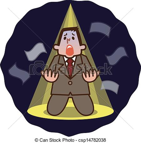 Despair clipart businessman #2