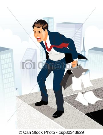 Despair clipart businessman #1
